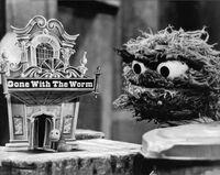 Oscar slimey gone with the worm