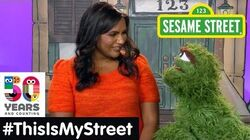 Sesame Street Memory Mindy Kaling ThisIsMyStreet