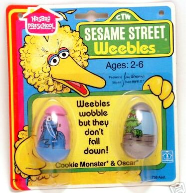 Sesame Street Weebles