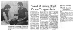 Alan Menken and Northern Calloway The Tennessean 1980-09-15