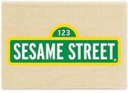 Stampabilities sesame street sign