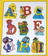 Drawing board 1981 perk-up stickers deena