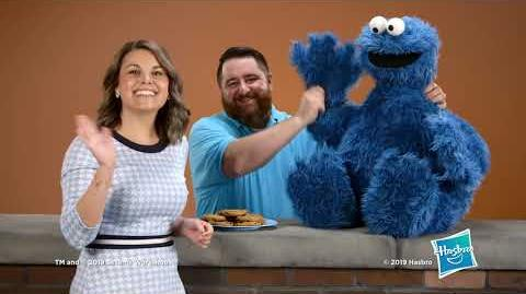 Cookie Monster replica