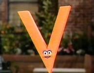 Letter V Muppet