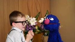 Our Kids interview the hilarious & adorable Grover!