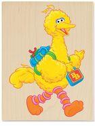 Stampabilities big bird goes to school