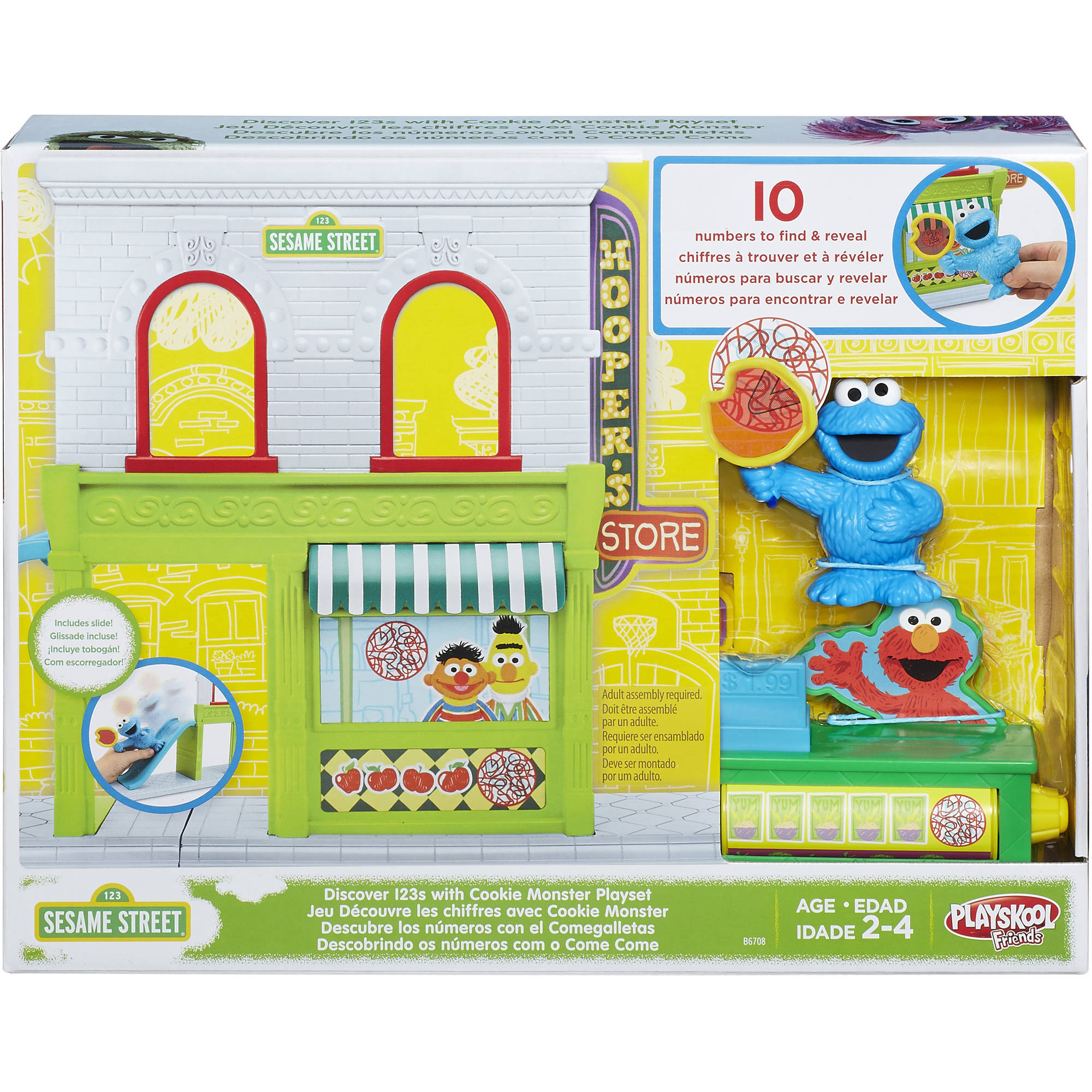Discover 123s with Cookie Monster playset
