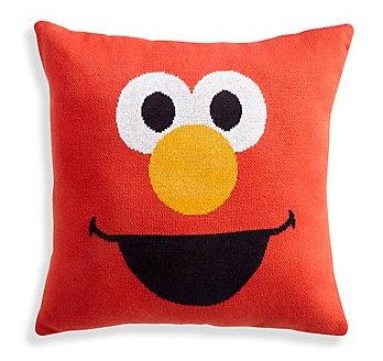 Sesame Street throw pillows (The Land of Nod)
