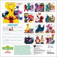 Sesame Calendar 2022 back