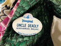 D23 Uncle Deadly name tag