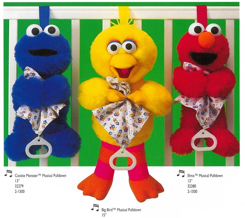 Sesame Street baby toys (Applause)
