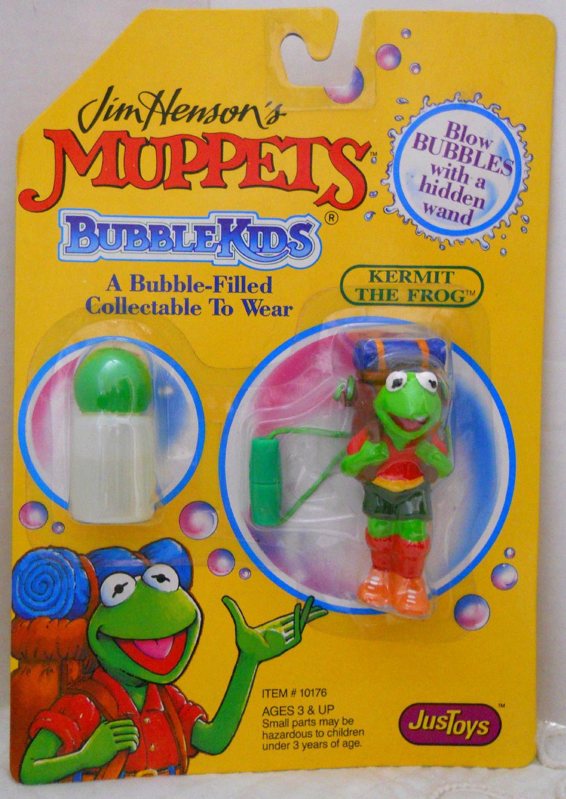 Muppet bubble necklaces