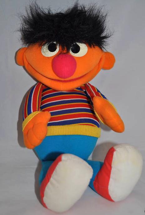 Sesame Street puppets (Hasbro)