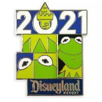 Kermit 2021 pin disneyland resort