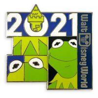 Kermit 2021 pin walt disney world