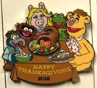 Thanksgiving pin 2018