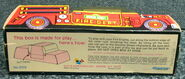 Child guidance muppet miniatures sesame pvc fire truck 3