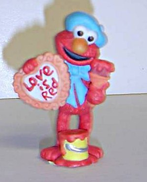 Sesame Street figurines (Applause)