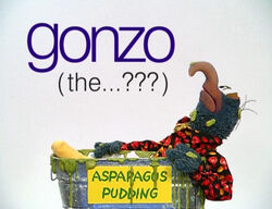 Muppetism Gonzo question mark
