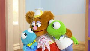 Muppet Babies Carlos frog