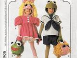 Muppet Babies Halloween costumes (Simplicity)
