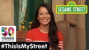 Sesame Street Memory Lucy Liu ThisIsMyStreet