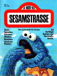 Sesamstrasse magazine nr 4