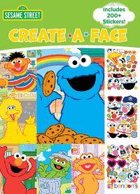 Bendon 2018 create-a-face sticker book 1