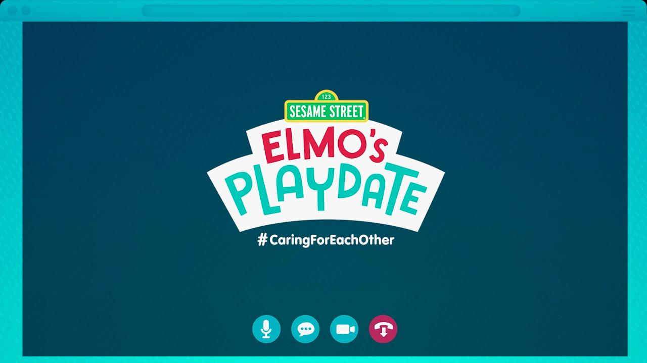 Elmo's Playdate