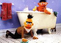 Ernie bert bath