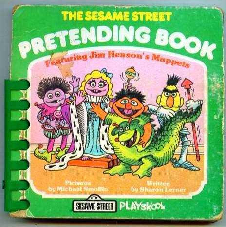 The Sesame Street Pretending Book