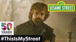Sesame Street Memory Peter Dinklage ThisIsMyStreet