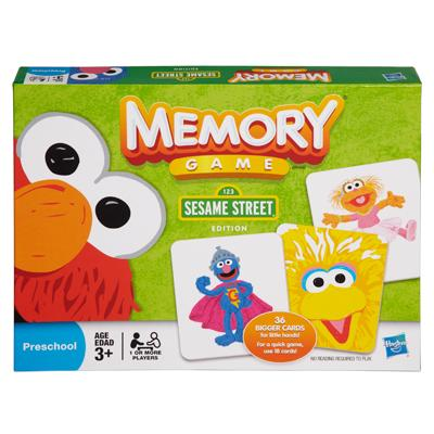 Memory Game: Sesame Street Edition