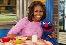 MichelleObama&Grover