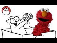 Play like a Cat - Simon's Cat & Elmo-2