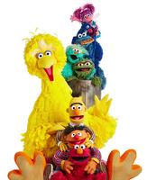 Season 50 sitting Muppets