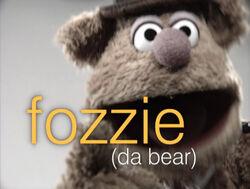 Muppetism Fozzie da bear