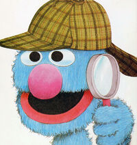 Grover detective I Want a Hat Like That