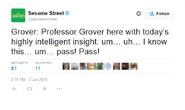 Professor Grover Tweet June 2010