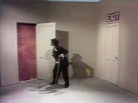 Maria Chaplin brick exit