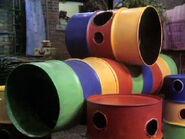 0260 barrels oil drums