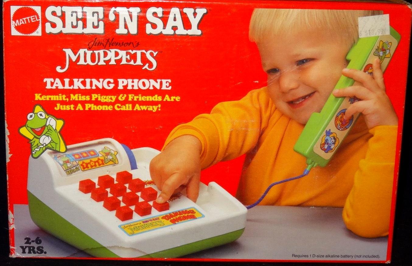 See 'n Say Muppets Talking Phone
