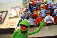Kermit at fao schwartz