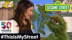 Sesame Street Memory Kathryn Hahn