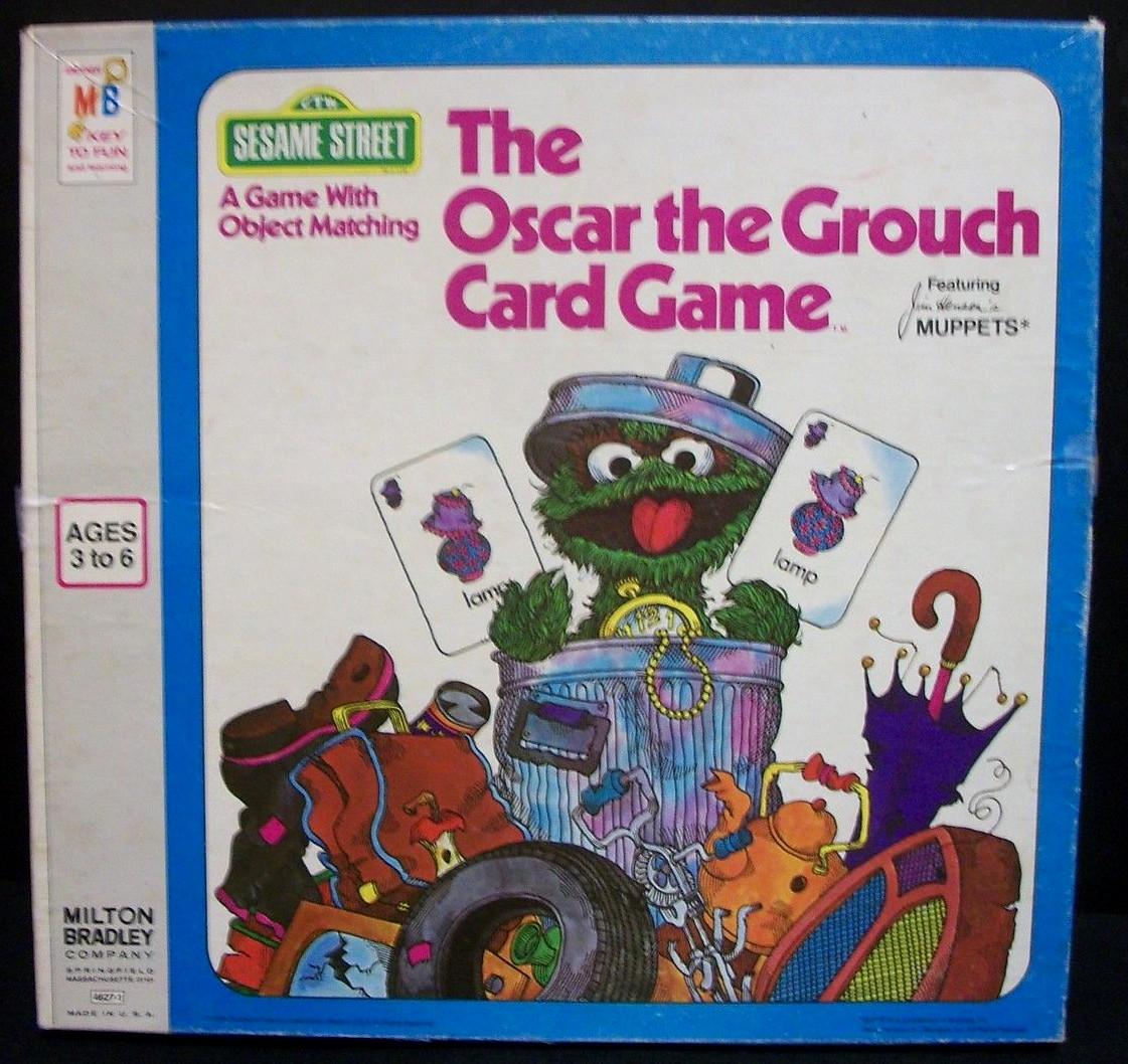 The Oscar the Grouch Card Game