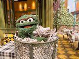 Oscar's trash can