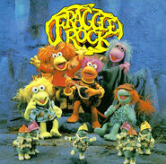Fraggle Rock Album-UK LP