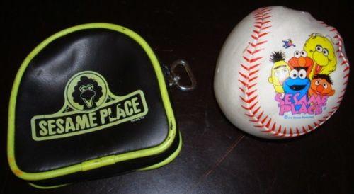 Sesame Place soft pouch ball