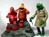Koozebane Kermit Action Figure