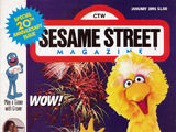 Sesame Street Magazine (Jan - Feb 1991)
